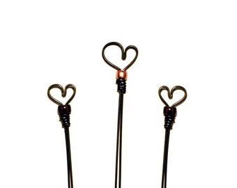 3 Heart Book'markers- Great Teacher Gifts
