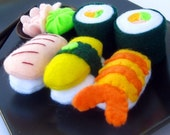 Felt Play Food Sushi Toy Set
