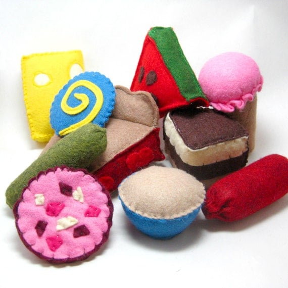 SALE 20% OFF Felt Food Toys for A Very Hungry Caterpillar Book