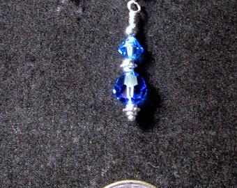 Dark blue Swarovski crystal bracelet