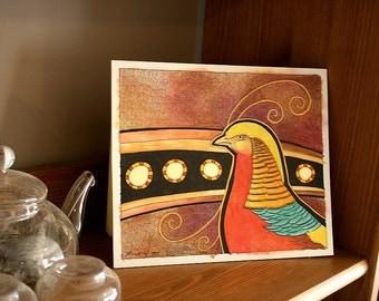 Original - Golden Pheasant as Totem