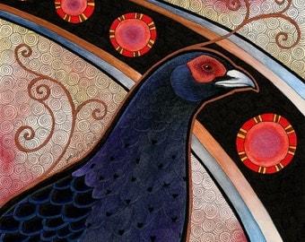 Original Mikado Pheasant Totem