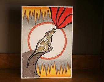 Original Antechinus as Totem