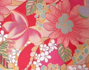 SPRING Alexander Henry beautiful floral flowers cotton quilt fabric BTY