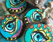 All Seeing Eye, Singleton Hippie Art