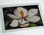 Beale Magnolia, 5 x 7 inch Metallic print
