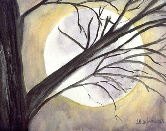 Brilliance Moon, Fine Art Giclee, signed