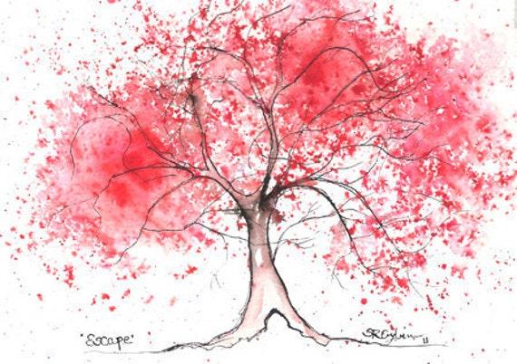 Escape Tree, PRINT, 5 x 7