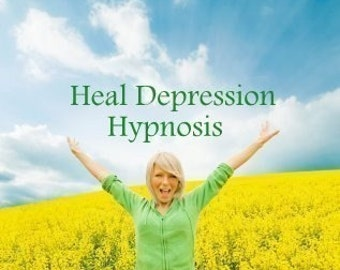 Heal Depression Now Hypnosis CD or mp3 Download