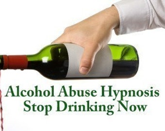 Alcohol Abuse Hypnosis  CD or mp3 Download. Stop Abusing Alcohol. Learn How to Live Sober Free From Alcohol.