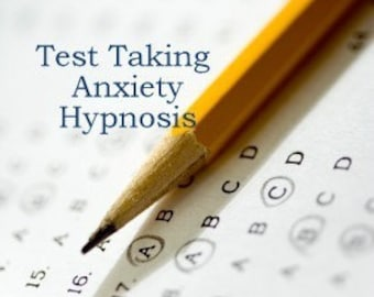 Test Taking Anxiety Hypnosis CD or mp3 Download. Cure anxiety symptoms related to exams and test taking.