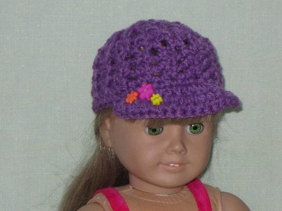 American Girl 18 inch Doll News Boy Cap