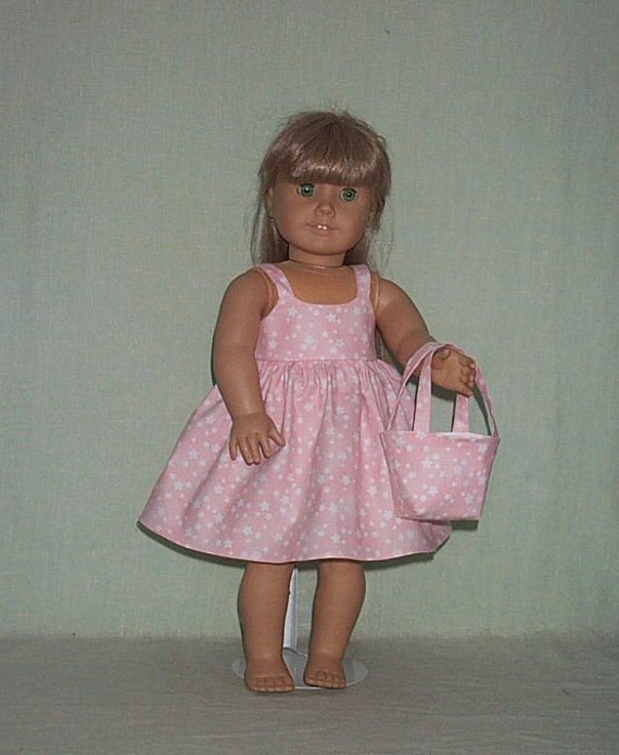 American Girl 18 inch Doll Sundress and Bag