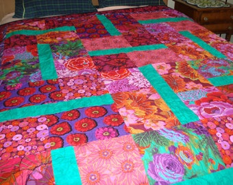 Twin size bed quilt