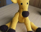 PATTERN, Giraffe (Crochet)