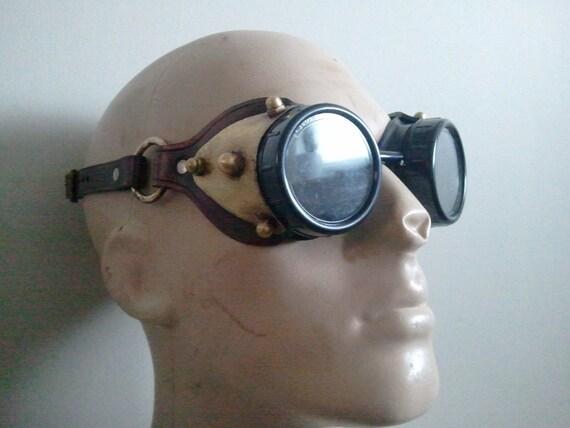 steampunk goggles  perfect for any steamy attire