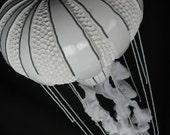 Jellyfish Gourd  Lamp  OOAK Japanese Stinging Nettle