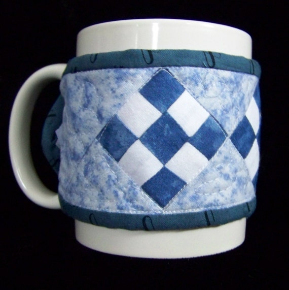 Coffee Cup Cozy Or Mug Quilt By Scrappyquilter On Etsy