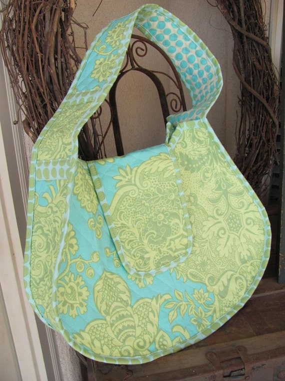 Clearance Large Tote Amy Bulter Quilted By Daisylanedesign