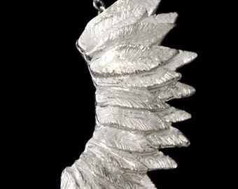 Wing Pendant Sterling Silver