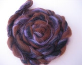 Strawberry Chocolate Cupcake, 2 oz Mill Ends Roving