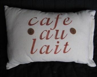 Cafe au Lait pillow