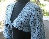 Carilo lace bolero - PDF crochet pattern