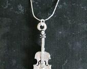 The Silver Violin - Necklace