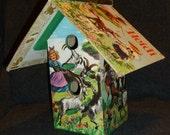 Heidi Book Birdhouse
