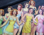 1 Paper Doll-Vintage 1940s, 1950s, 1960s