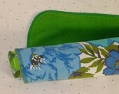 Baby Greens Reclaimed Vintage Fabric Burp Cloth...