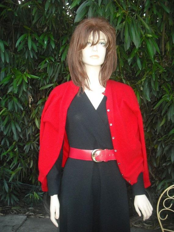 1970s Black  MAXI Dress / Long Knit Dress by R & K Knits / BOHO