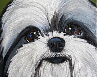 "8""x8"" Custom Pet Portrait"