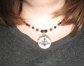 RESERVED - Phantom of the Opera - Chandelier Necklace