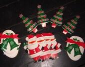 Vintage Pop-out paper ornaments