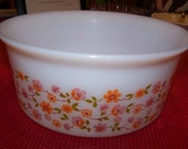 France Arcopal Serving Dish with pretty flowers
