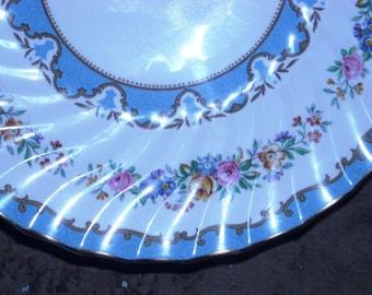TUNIS Bone China Cake Plate