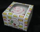 Baby Cupcake-Bib/Washcloths Pink Polka Dots