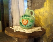 Reserved for minteriors Celtic Thunder Whiskey Jug Leprechaun Dollhouse Miniature
