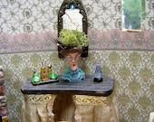 Screaming Lady Victorian Miniature Vase