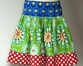 Primary Gypsy Jewel Twirl Skirt - Kissing Kumquats