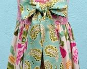 Olivia Reverse Knot Dress - Kissing Kumquats