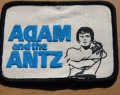 """Vintage 1980's RARE Adam & the Ants antz printed and embroidered patch 4"""" x 3"""""""