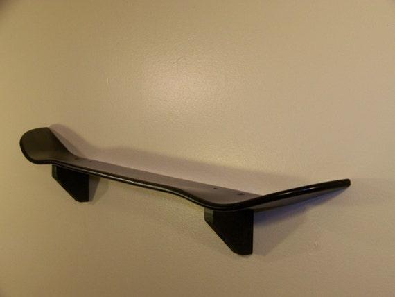 black skateboard shelf by battlealleyskteshelf on etsy. Black Bedroom Furniture Sets. Home Design Ideas