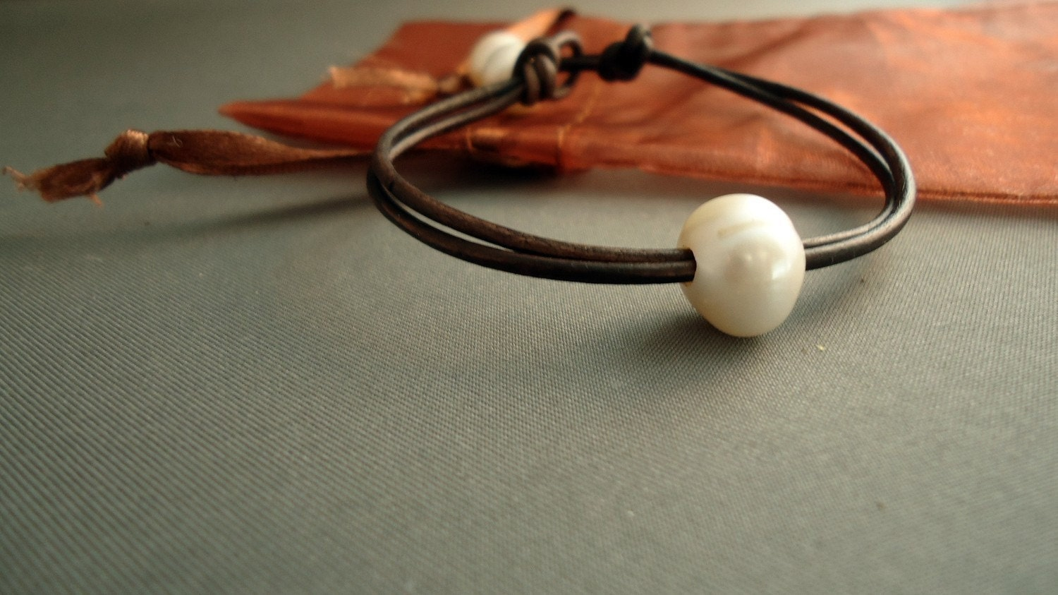 Single,pearl,leather,Bracelet,Jewelry,Bangle,pearl_bracelet,leather_bracelet,leather_and_pearls,pearls_and_leather,ocean,women_gifts,white_pearls,freshwater_pearls,nautica,modern_chic,freshwater pearls,greek leather