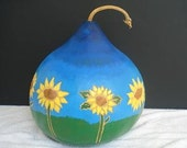 Sunflower Gourd