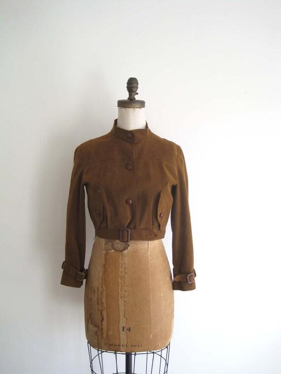 vintage 1970s  jacket / Bill Blass ( EARHEART )