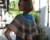 Year End Sale Poncho or Capelet in Desert Sunset