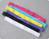 YOU PICK ONE interchangeabe super soft elastic headband in your choice of size