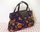 floral carpet bag, mary poppinstyle
